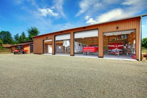 Overhead garage doors on farm|Fergus-Elora, Ontario Garage Doors