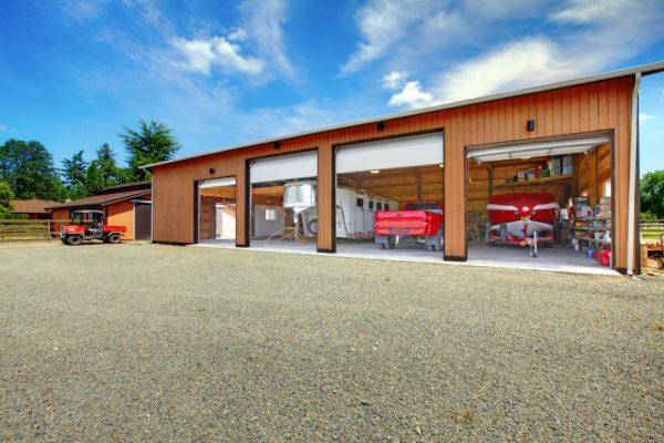 Overhead garage doors on farm|Fergus-Elora, Ontario Garage Doors